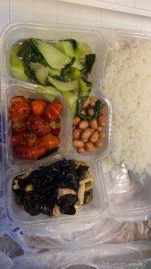 コロナ 隔離中の中国料理